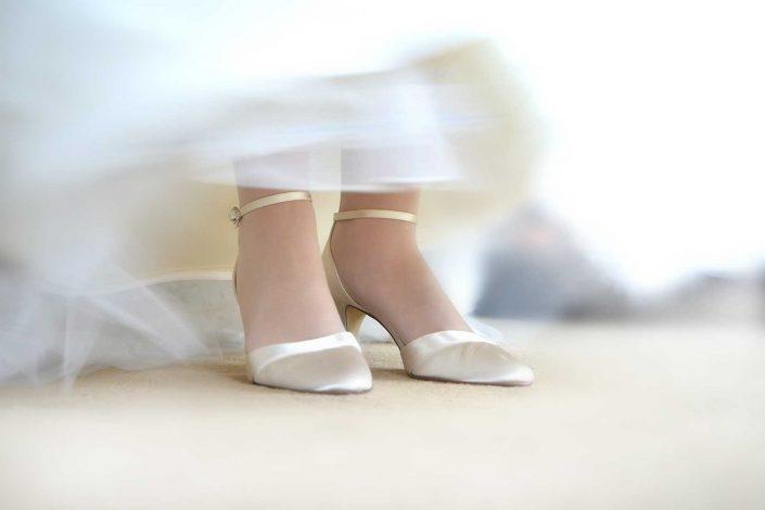 Hochzeitsfotografie Heiderose M. Kay | Brautschuhe